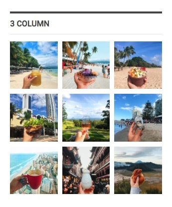 Instagram widget in Publisher